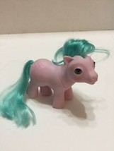Vintage My Little Pony Pink Beddy Bye Eye 1987 Ballet Shoes Hong Kong - $4.98