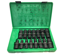 S&k Loose Hand Tools Drive metric swivel impact socket set 34350 - $219.00