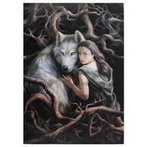 """Nemesis Now: Wolf  Soul Bond Canvas on Wood Frame by Anne Stokes  20"""" x 28"""" - €26,47 EUR"""