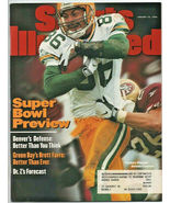 1998 Sports Illustrated Green Bay Packers New York Rangers Kentucky Wild... - $2.50