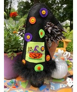 Witch Hat Wine Cover (2 patterns) cross stitch chart Amy Bruecken Designs - $14.40