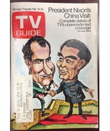 TV GUIDE February 19 1972 Richard Nixon in China - $9.89