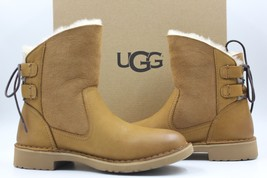 UGG Naiyah Women's Leather Suede Boots 1017496 - Chestnut - Size 5.5 - NEW - $130.89