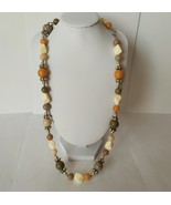 Multi-color Bead Necklace Boho style - $6.50