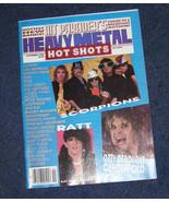 Ozzy Osbourne Scorpions Ratt Led Zeppelin Hit parader heavy metal rock s... - $18.99