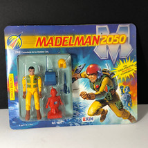 1988 MADELMAN 2050 vintage action figure Exin gi joe articulation Zan ye... - $143.55