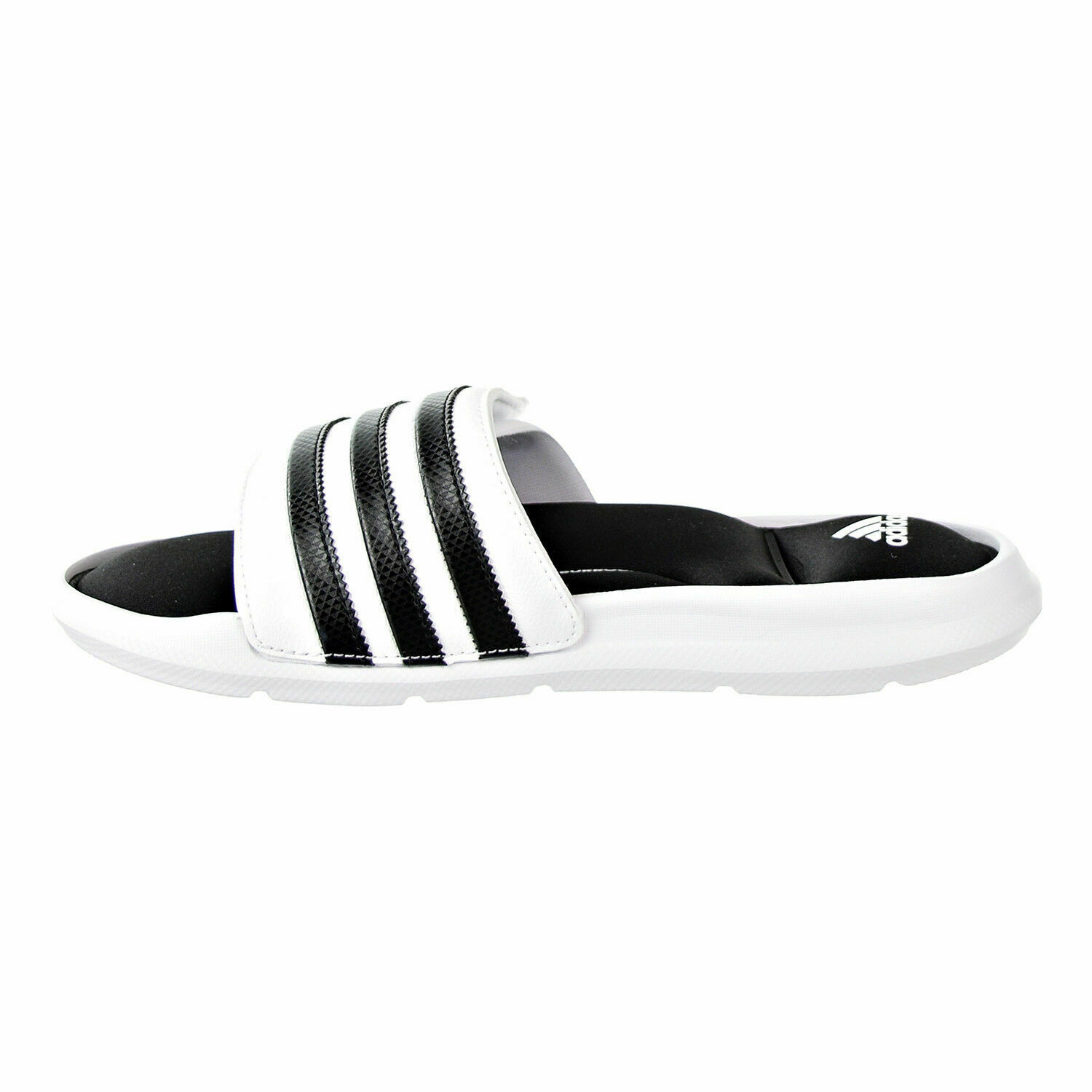 ADIDAS SUPERSTAR SURROUND MEMORY FOAM SLIDE SANDALS MEN SHOES WHITE SIZE 15 NEW image 3