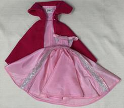 VTG ORIG Barbie Sophisticated Lady Velvet Coat and Elegant Pink Dress #993 1543 - $52.20