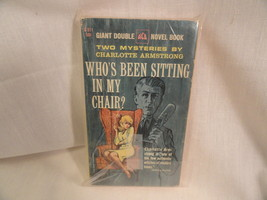 Chocolate Cobweb - Whos Been Sitting In My Chair Paperback Book 1963 Double - $2.49