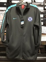 nike chelsea jacket 2019 Gray Sky Blue Size Large  Only - $99.00