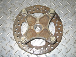 KAWASAKI 2002 PRAIRIE 650 4X4 LEFT FRONT HUB WITH BRAKE DISC  PART 22,188  - $30.00