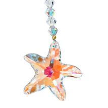 Crystal Starfish Keyring image 2