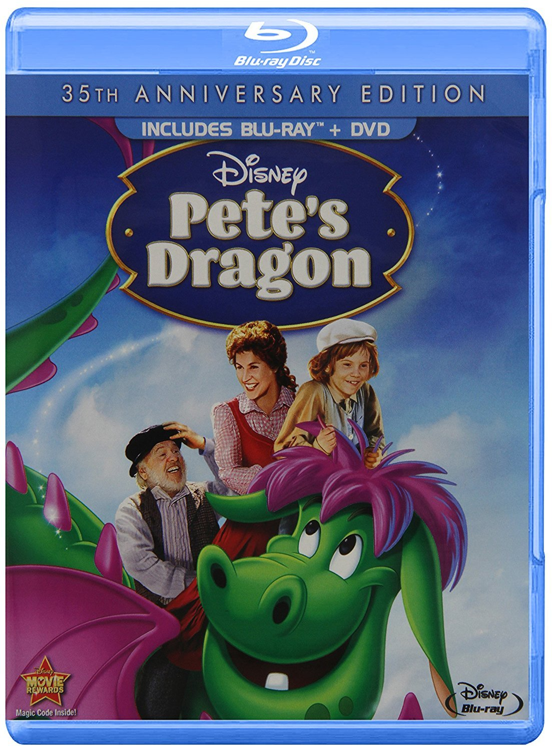 Disney Pete's Dragon (35th Anniversary Edition) [Blu-ray + DVD]