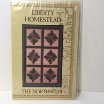 """The North Star Quilt Pattern 22"""" x 35"""" Liberty Homestead - $11.64"""