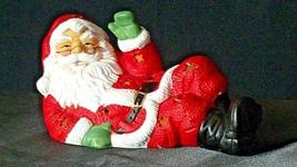 Santa Candle Holder AA20-2123 Vintage