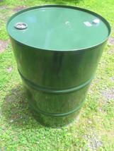 Steel sealed tight head 55 gallon drum burn barrel Stove Fuel LOCAL PICK... - $40.00