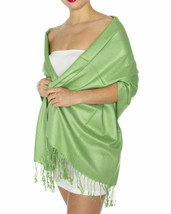 New Jones New York Tassel Silky Smooth Pashmina Scarf Women's Wrap Shawl... - €13,77 EUR