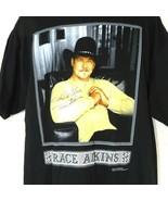 Trace Adkins Concert Tour Crewneck T-Shirt Men Women Size XL AUTOGRAPH C... - $24.74