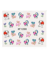 10pcs Flower Nail Decals Art Water Transfer Stickers(#1) - $6.53