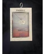 Disney FROZEN II Destiny Awaits Fine Silver Plated Genuine Crystal - $18.99