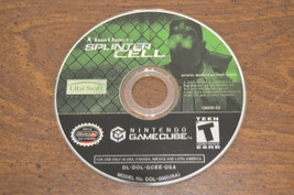 Tom Clancy's Splinter Cell (Nintendo GameCube, 2003) - Game Disc Only - $4.19