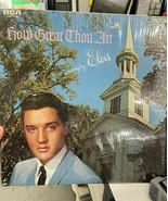 How Great Thou Art - Elvis record - $30.00