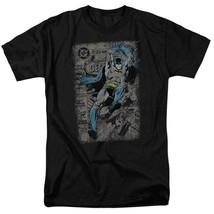 DC Comics Batman retro comic book cover superhero graphic t-shirt BM1842 image 1