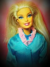 Vintage Barbie Doll Made in Indonesia (1999 Body with 1998 Head) - $18.00