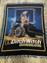 Ditch Witch Groundbreaking The Northwest Company Tapestry Blanket 57x45  - $39.59