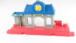 Fisher Price Little People Town Train Station Replacement Accessory H5698 - $19.79