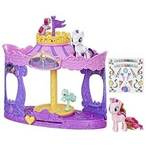 My Little Pony Musical Carousel with Pinkie Pie and Rarity 3-inch Pony T... - $31.33