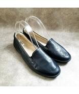 Natural Soul by Naturalizer Womens Kacy  Size 8 Black  Leather Slip On L... - $19.99