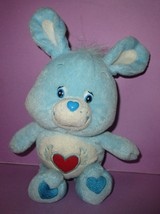 "Care Bears Collector's Cousin Swift Heart Rabbit 8"" Plush Toy 2004 Play ... - $24.00"