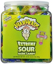 Warheads Extreme Sour Hard Candy Pack of 240 - $25.12
