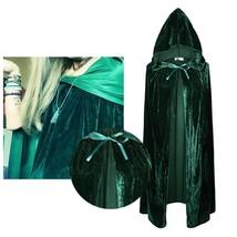 Women/mens Cloak Velvet Hooded Cosplay Costume Xmas Fancy Dress Hooides ... - $27.12
