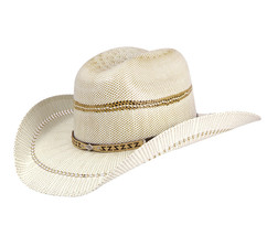 Boy's Western Hat El General Sombrero 100X El Cartel Bangora Ivory/Tang - €32,27 EUR