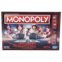 Hasbro Games Stranger Things Monopoly Board Game - $34.34