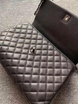 AUTHENTIC CHANEL QUILTED BLACK CAVIAR LARGE COCO PYTHON HANDLE BAG RECEIPT RHW image 7