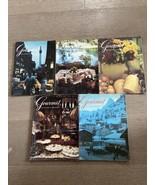 Lot of 5 Gourmet Magazines from 1970 April, June, September, November & ... - $15.00