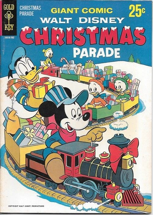 Primary image for Walt Disneys Christmas Parade Comic Book #5 Gold Key 1967 VERY FINE-