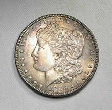 1886-P Silver Morgan Dollar UNC+ Coin AI840 - $47.34
