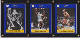 Keith Erickson, David Meyers & Lynn Shackelford Signed Autographed UCLA ... - $19.99
