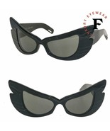 GUCCI Hollywood Forever 0710 Black Butterfly Wing Mask Sunglasses GG0710S 001 - $705.38