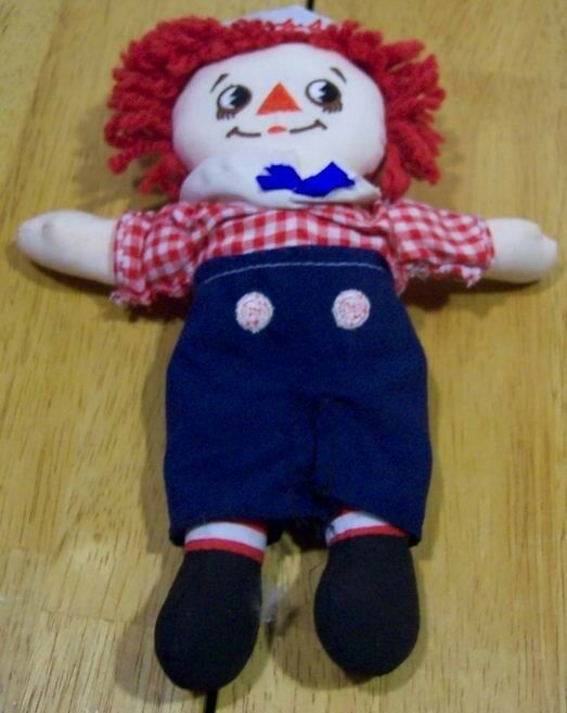 "Applause RAGGEDY ANDY 9"" Plush STUFFED ANIMAL Toy"