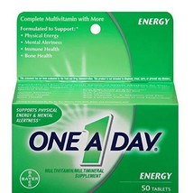 One A Day Energy 50ct  Multivitamin/Multimineral Supplement EXP 09/2019 - $15.83