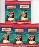 Walt Disney Pocahontas Movie 5 Trading Card Packs NEW SEALED 1995 Skybox - $2.75