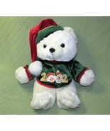 2002 SNOWFLAKE TEDDY DAN DEE BEAR BOY TEDDY STUFFED ANIMAL CHRISTMAS GRE... - $22.77