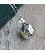 Ash holder necklace, cremation box necklace, snuff bottle necklace (Perf30) - $26.00