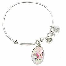 Disney Epcot Flower and Garden Festival Bangle Charm Bracelet Silver - $49.49