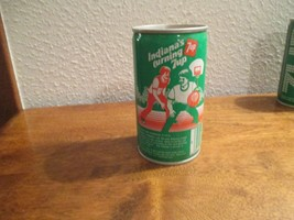 Indiana IN Turning 7up vintage pop soda metal can Playing basketball - $10.99